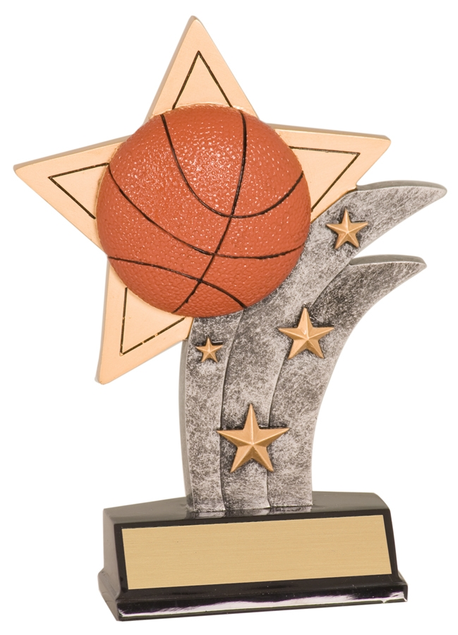 Sport Award - Basketball Awards - Basketball Resins
