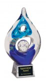 Corporate Award - Glass and Crystal - Art Glass